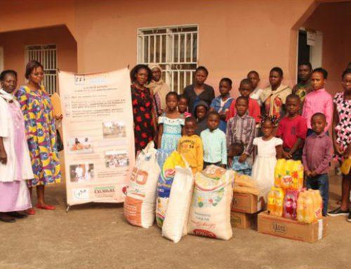 Dons de denrées almentaires aux orphelinats